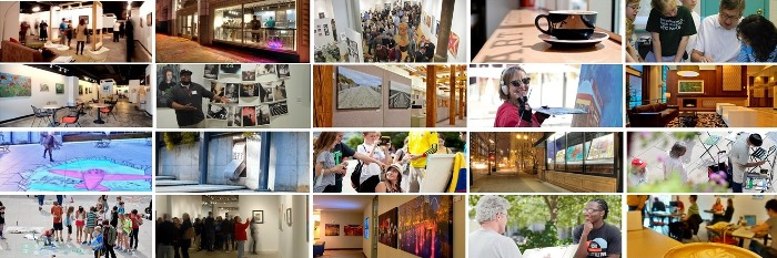 Our mission in action, connecting and inspiring our community through the work of St. Louis regional artists!