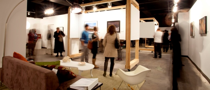 Gallery View: Art Saint Louis XXIX, The Exhibition. Photo by Emily Amberger.