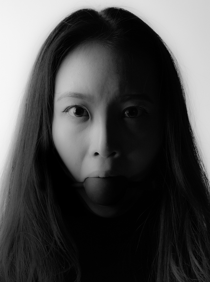 "Caroline Yoo, St. Louis, MO. ""I Am Not Your Asian Fuck Toy: Meelee."" 2016. Digital Photograph, 59""x44."" Not for Sale."