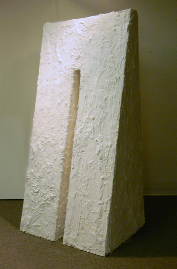 Lydia Boda, St. Louis Community College Florissant Valley. Me Féin. 2011, Plaster, Drywall, 6'x3'x2'. $500.